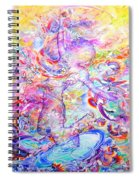 Changing The Atmosphere Spiral Notebook