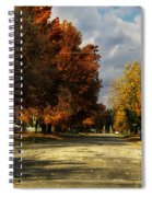 Changing To Fall Colors In Dwight Il Spiral Notebook