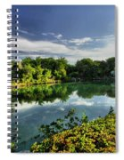 Chankanaab Lagoon Reflections Spiral Notebook