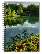 Chankanaab Mexico Lagoon Spiral Notebook