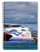 Channel Islands Ferry Spiral Notebook