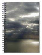 Channel Sunburst Spiral Notebook