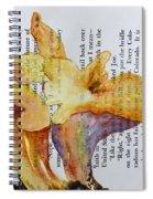Chanterelles Spiral Notebook