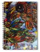 Chaos In Flight Spiral Notebook