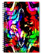 Chaos In My Mind Spiral Notebook