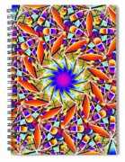 Chaos In Order Spiral Notebook