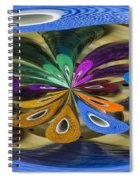 Chaos In Sewing.  Spiral Notebook