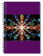 Chaos Star Spiral Notebook