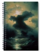 Chaos The Creation Spiral Notebook