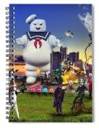Chaotic Detroit Spiral Notebook