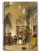 Chapel At Haddon Hall, Derbyshire Spiral Notebook