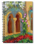 Chapel At St. Remy Spiral Notebook