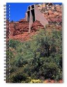 Chapel In Red Rocks Spiral Notebook