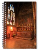 Chapel In St Severin Church Paris Spiral Notebook