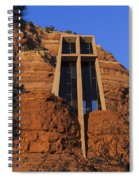 Chapel In The Rock Spiral Notebook