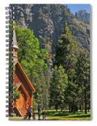 Chapel In The Valley Spiral Notebook