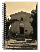 Chapel Of San Amasio Spiral Notebook