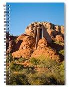Chapel Of The Holy Cross Sedona Arizona 100 Spiral Notebook