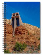 Chapel Of The Holy Cross Sedona Az Front Spiral Notebook