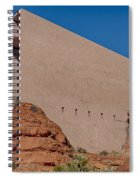 Chapel Of The Holy Cross Sedona Az Side Spiral Notebook