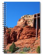 Chapel Of The Holy Cross Sedona Spiral Notebook