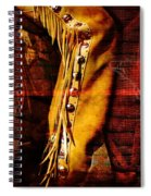 Chaps And Boots Spiral Notebook