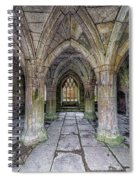 Chapter House Interior Spiral Notebook