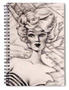Charice Doll Spiral Notebook