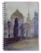 Charles Bridge Prague Spiral Notebook