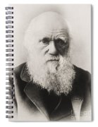 Charles Darwin Spiral Notebook