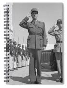 Charles De Gaulle In Carthage Tunisia 1943 Spiral Notebook
