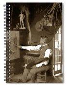 Charles Dickman Artist Monterey California Circa 1907 Spiral Notebook