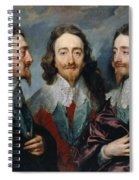 Charles I Spiral Notebook