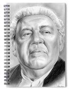 Charles Laughton Spiral Notebook