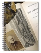 Charles Lyells Antiquity Of Man 1863 Spiral Notebook