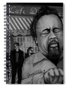 Jazz Charles Mingus Jr Spiral Notebook