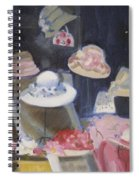 Charles Street Hats Spiral Notebook