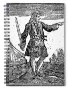 Charles Vane (c1680-1720) Spiral Notebook