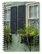 Charleston 13 Spiral Notebook