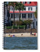 Charleston Beach Spiral Notebook