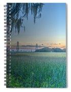 Charleston Bridge View Spiral Notebook