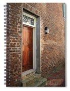 Charleston Door Spiral Notebook