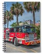 Charleston Fire Dept  Spiral Notebook