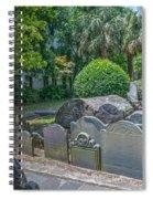 Charleston Graveyard Spiral Notebook