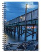 Charleston Harbor 3 Spiral Notebook