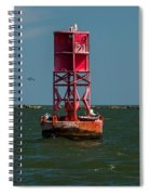 Charleston Harbor Buoy Spiral Notebook