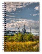 Charleston Marsh View Spiral Notebook