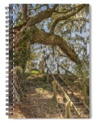 Charleston Oak Stairway Spiral Notebook