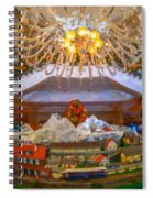 Charleston Place At Christmas Spiral Notebook