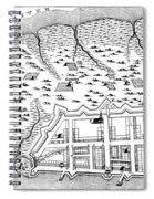 Charleston: Plan, 1704 Spiral Notebook